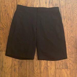 Men's Nike Golf Shorts Black Sz 33